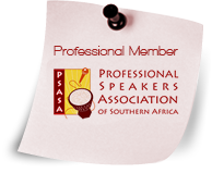 Professional Speakers Association of South Africa